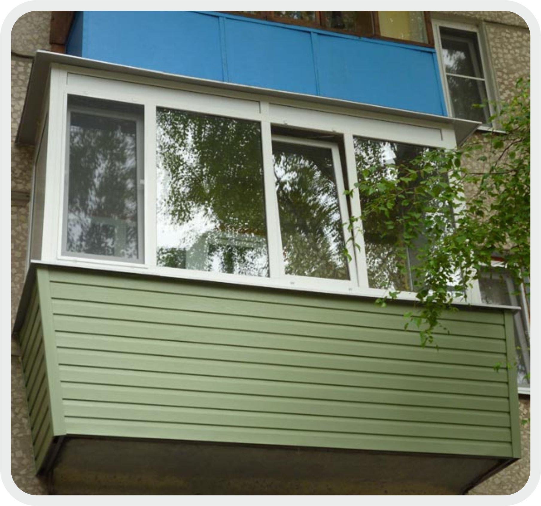 Балконы дизайн фото снаружи